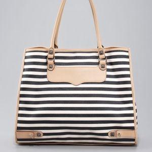 Rebecca Minkoff Striped Diamond Tote Bag